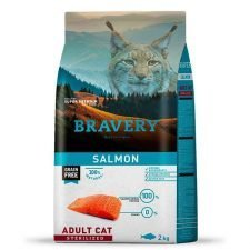 Bravery Salmon Adulto Sterilized Gato